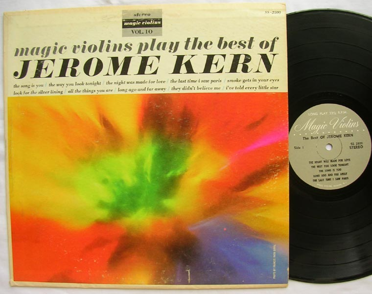 Magic Violins - Magic Violins Play The Best Of Jerome Kern