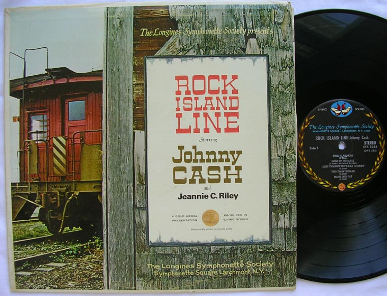 Johnny Cash / Jeannie C. Riley - Rock Island Line
