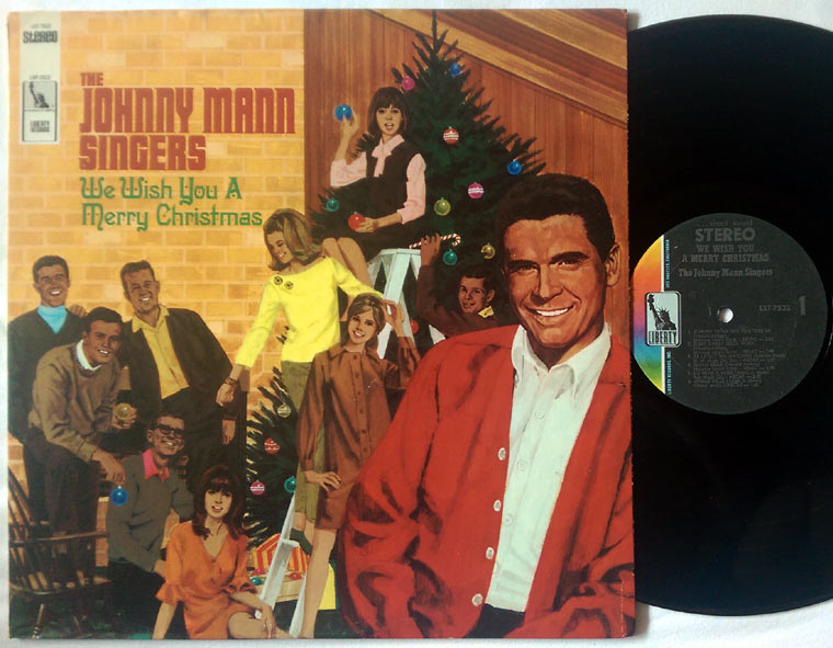 The Johnny Mann Singers - We Wish You A Merry Christmas