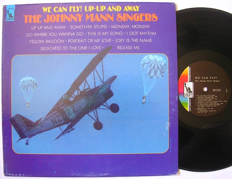 The Johnny Mann Singers - We Can Fly! Up-Up And Away