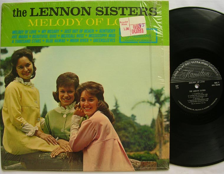 The Lennon Sisters - Melody Of Love