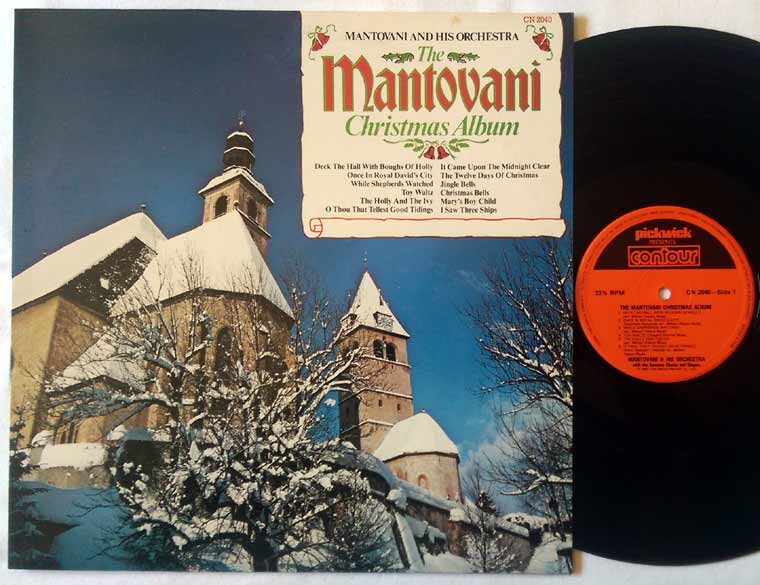 Mantovani And His Orchestra - The Mantovani Christmas Album
