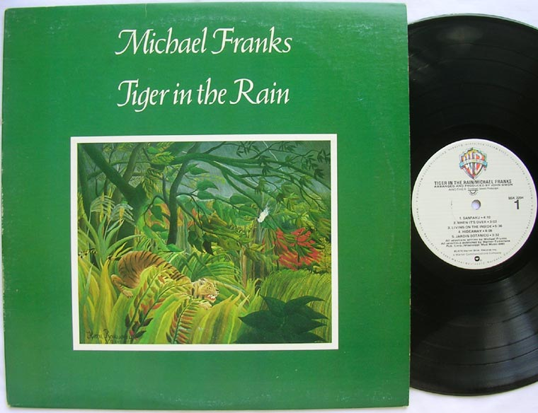 Michael Franks Tiger In The Rain By Warner Bros Records