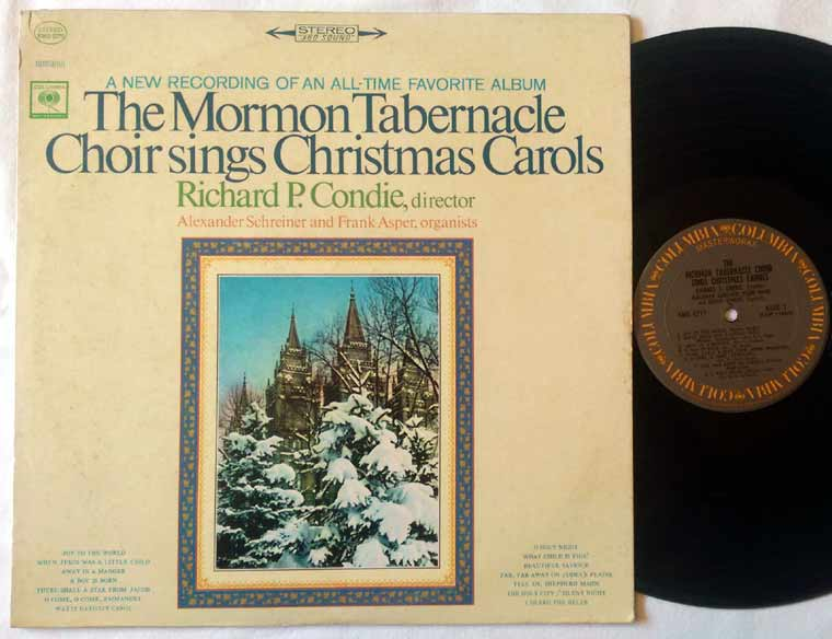 Mormon Tabernacle Choir - Sings Christmas Carols
