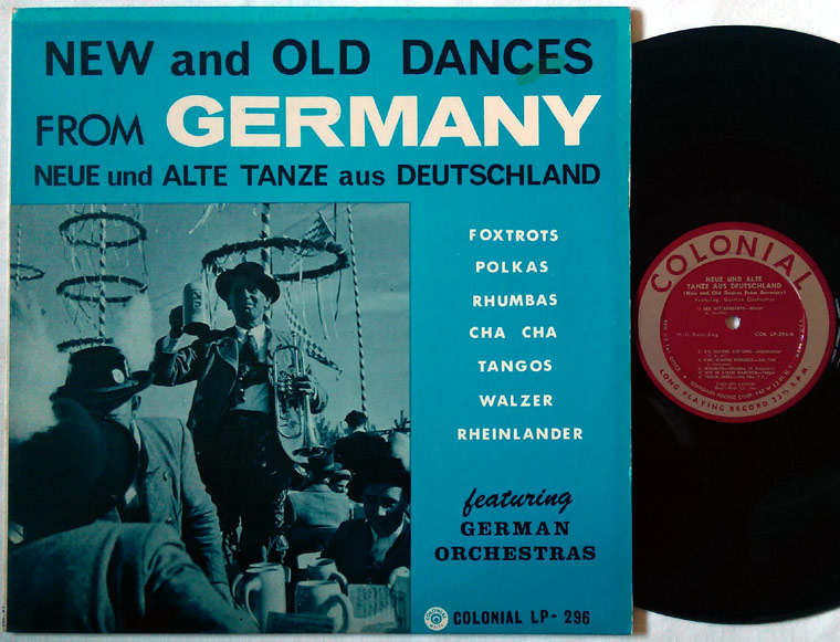 Various - New And Old Dances From Germany