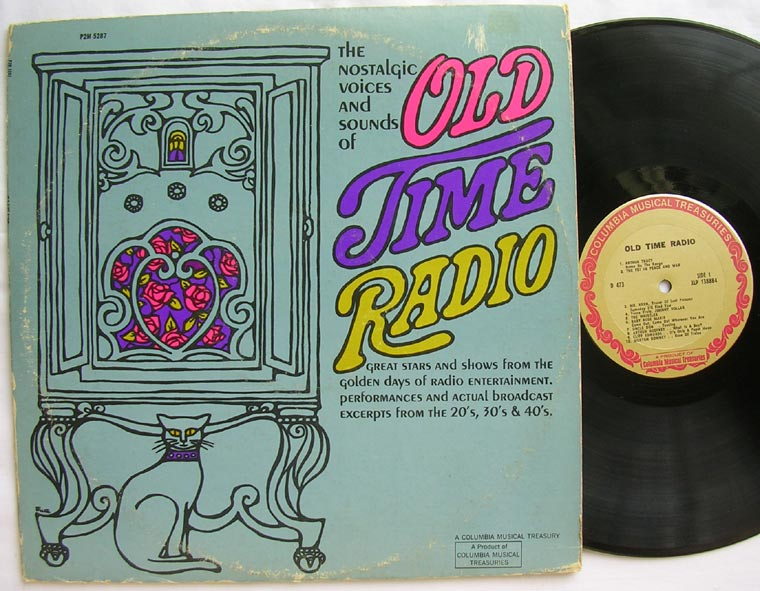Various - The Nostalgic Voices And Sounds Of Old Time Radio