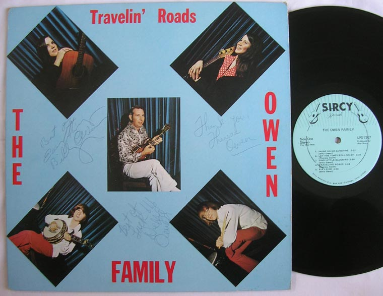 The Owen Family - Travelin' Roads