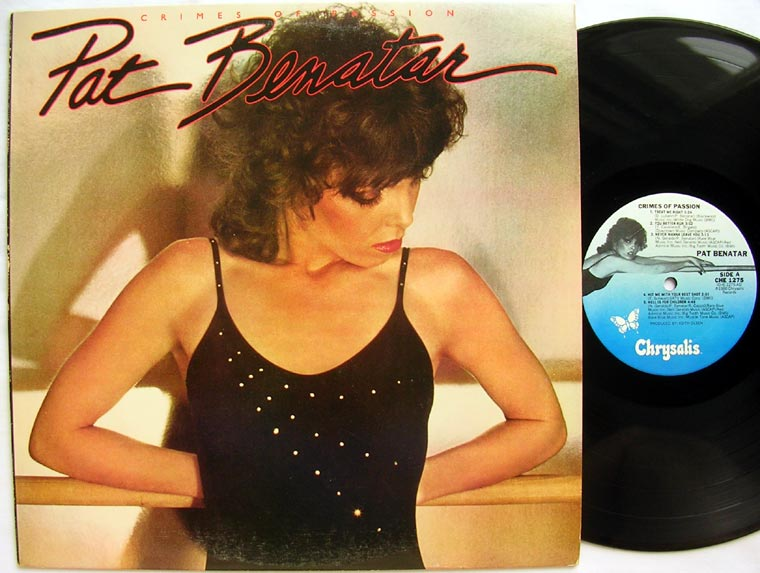 Pat Benatar Crimes Of Passion By Chrysalis Vinyl45lp Com