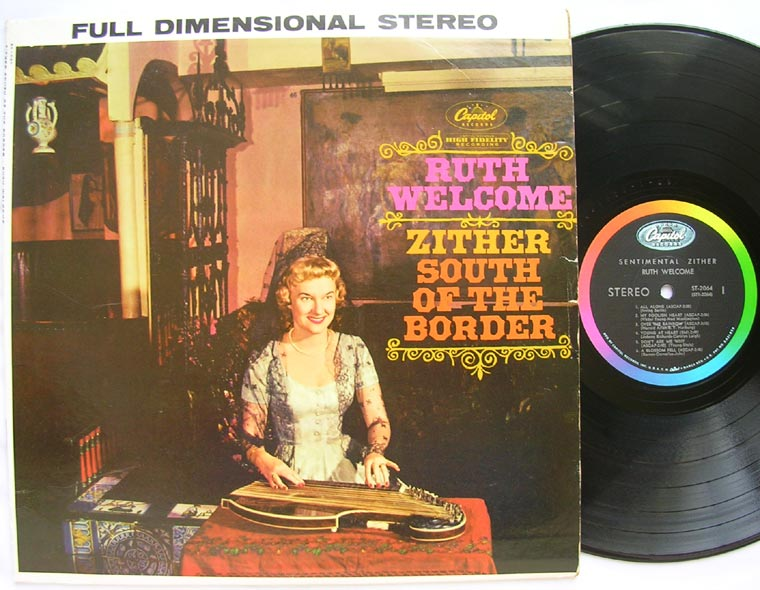Ruth Welcome - Zither South Of The Border