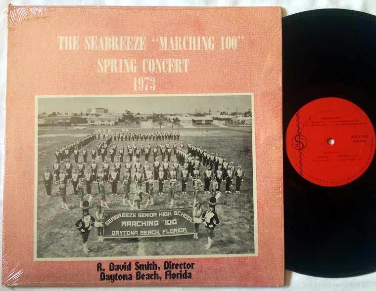 Seabreeze Marching 100 - Spring Concert 1973