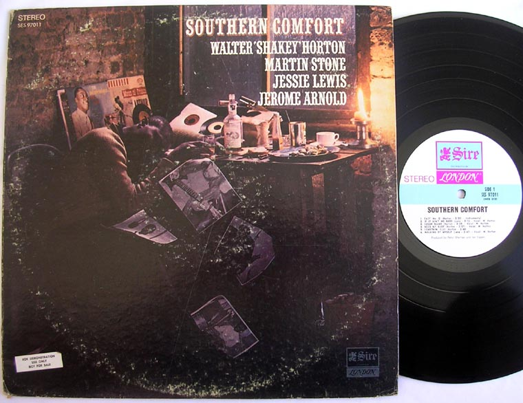 Walter Horton Southern Comfort By Sire London Records