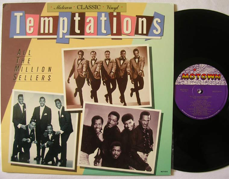 The Temptations All The Million Sellers By Motown