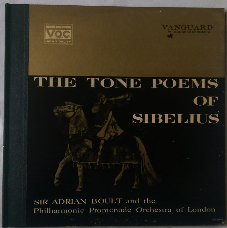 Sir Adrian Boult - The Tone Poems Of Sibelius